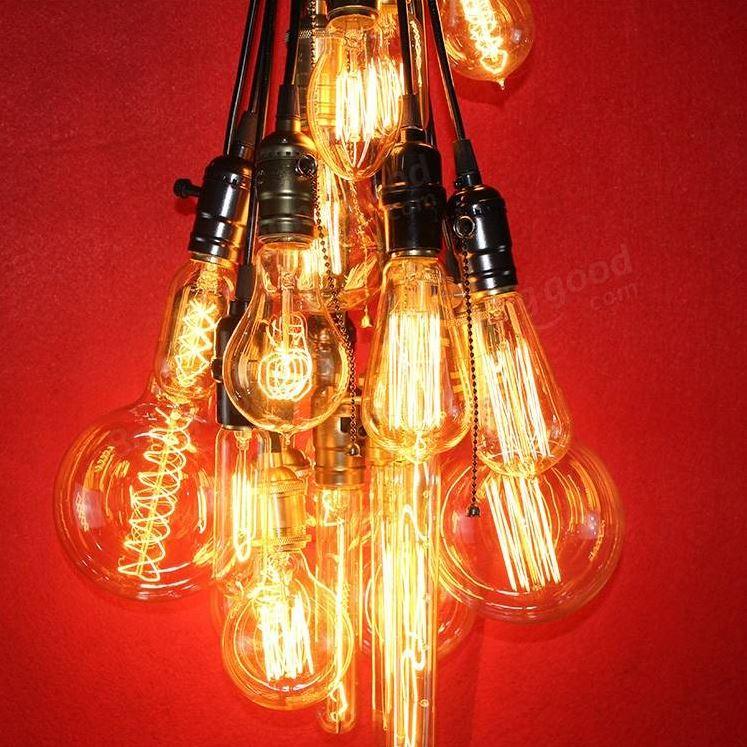 Kies uit 28 retro vintage edison lampen 2 45 gadgets for Vintage lampen