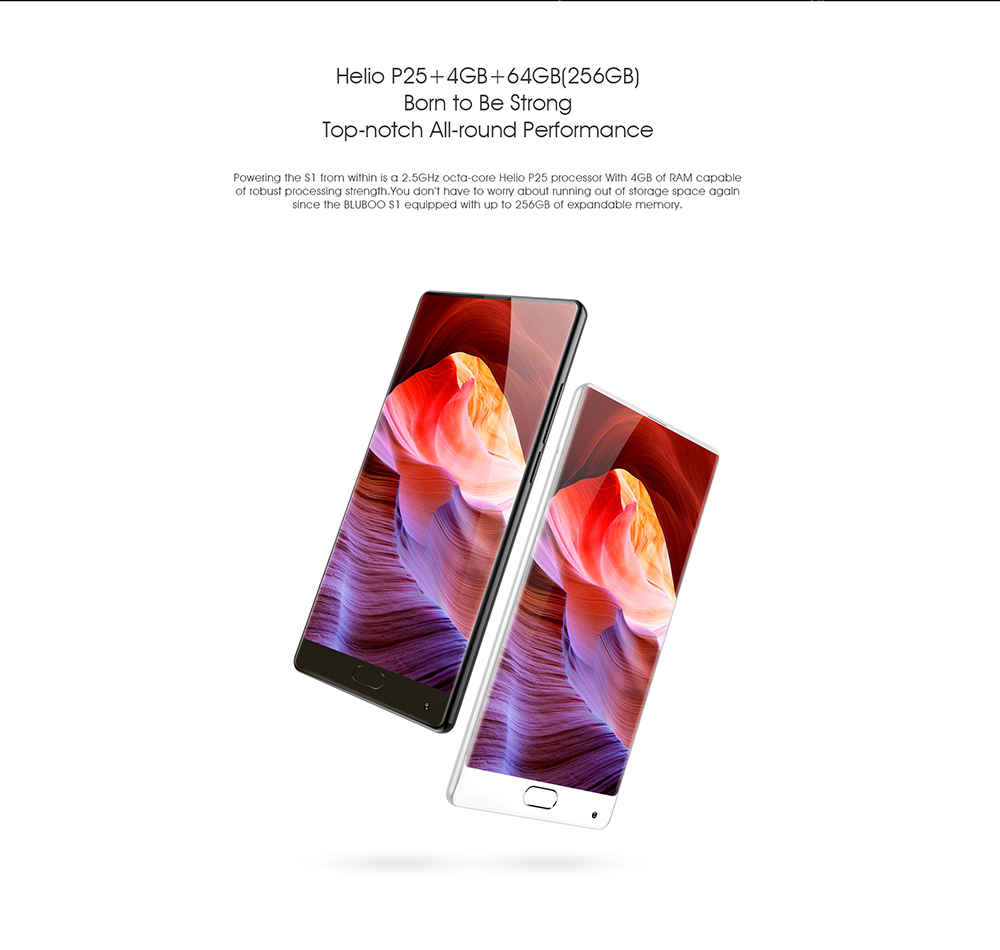 "Bluboo S1 5.5"" 4GB/64GB Design Smartphone"