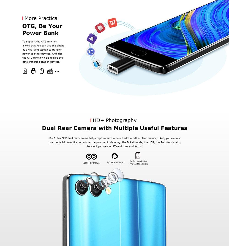 Homtom S9 4GB-64GB Smartphone